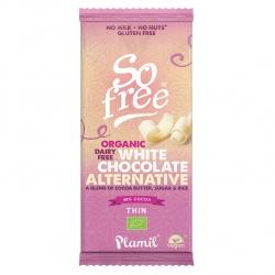 Czekolada biała waniliowo kokosowa 48% kakao 70 g