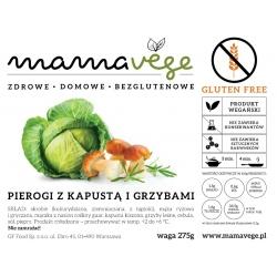 Mamavege Pierogi Kapustą i Grzybami 275 g