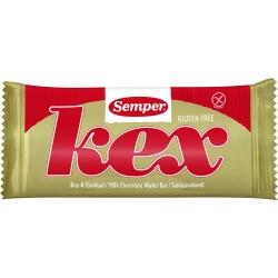 SEMPER Kex GF wafel w mlecznej czekoladzie 45g