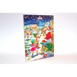 Świąteczny kalendarz czekoladowy niskobiałkowy PKU 75g