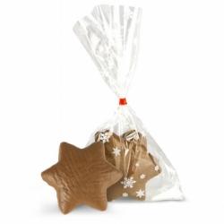 Gwiazdki piernikowe czekoladowe 2 szt. GF