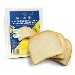 Chleb kukurydziany niskobiałkowy PKU 300g