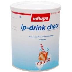 Milupa lp-drink choco 375 g Niskobiałkowy napój o smaku czekoladowym w proszku