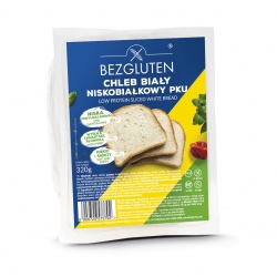 Chleb biały niskobiałkowy PKU 320g
