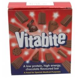 Vita Bite niskobiałkowe batoniki energetyczne o smaku czekoladowym 7x25g